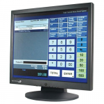 "Monitor, 17"", Resistive, 3 Track MSR, USB Interface"