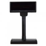 Black Vacuum Flourescent Pole Display, 2 x 20