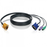 "10"" PS/2 & VGA Bonded KVM Cable"