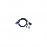 1.8 Meter PS2 USB expreZo Combo KVM Cable