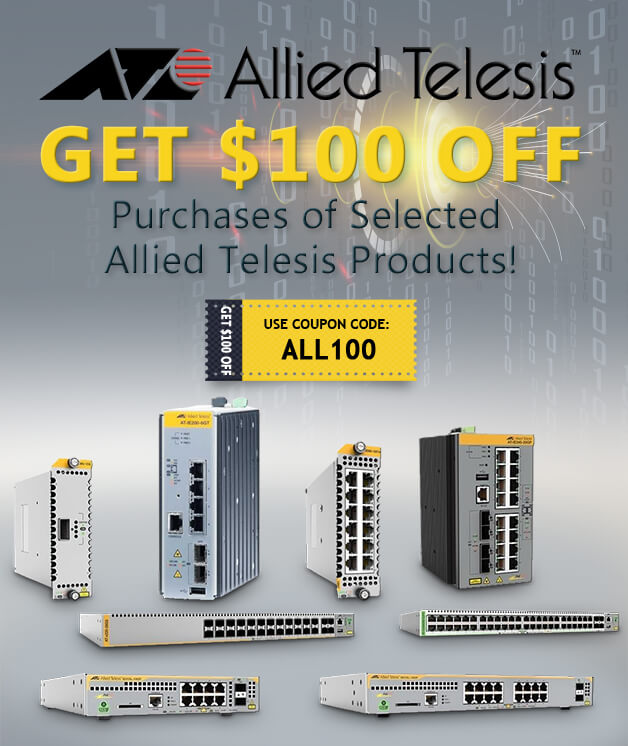 Fantastic Deal with Allied Telesis!