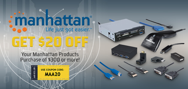 Save on Manhattan products!