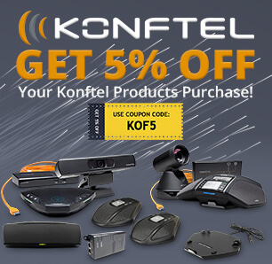 Save on Konftel Products!