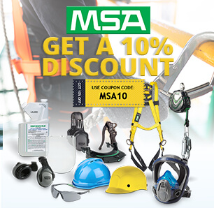 Save on MSA Products!